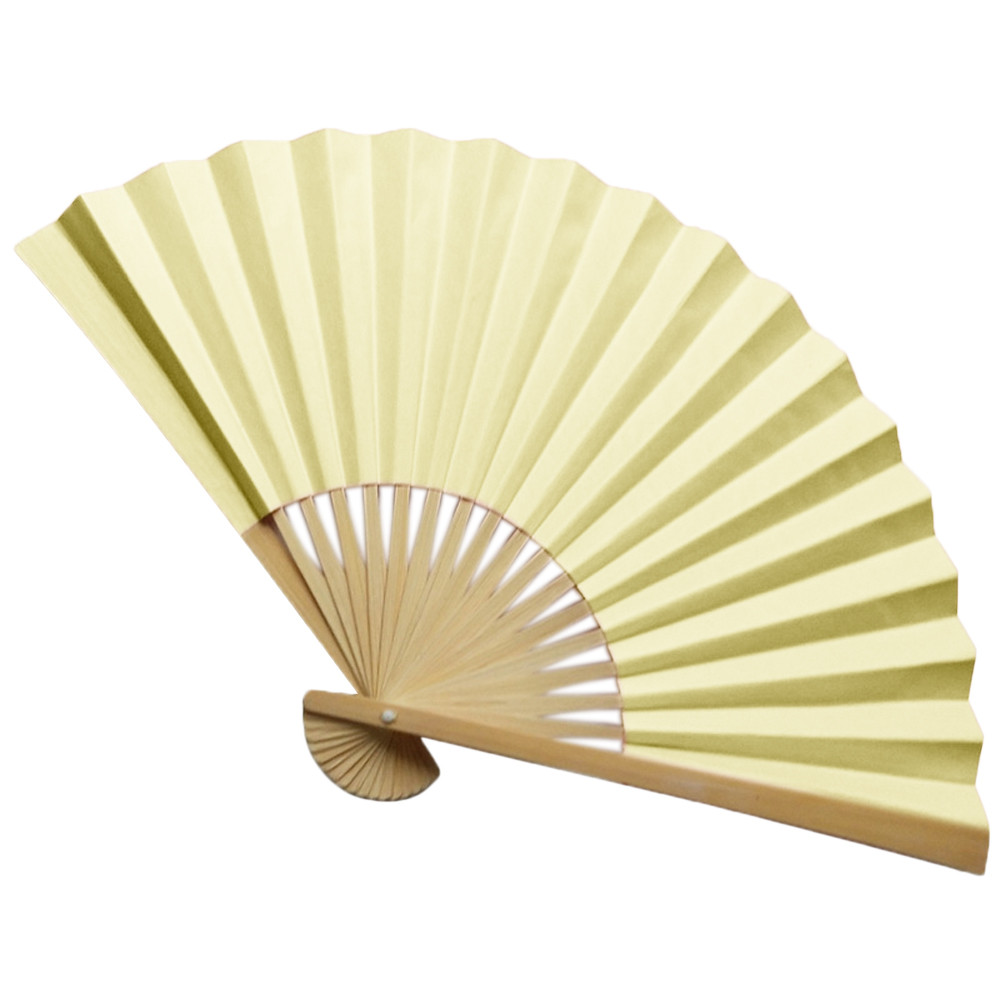 Folding Hand Fan Men's Black Bamboo Spun Silk Calligraphy Painting Writing Dancing Chinese Held Fans Wedding Party Favor0.975