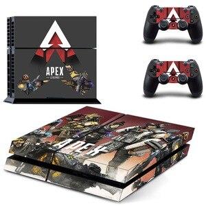 Image 2 - Jeu Apex légendes PS4 autocollant de peau autocollant vinyle pour Sony Playstation 4 Console et contrôleur PS4 autocollant de peau