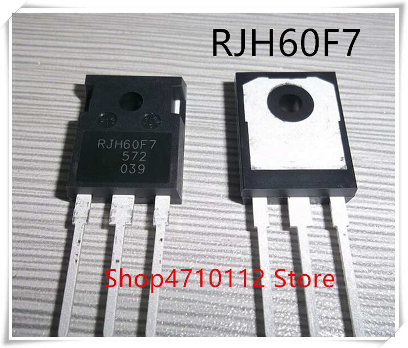 NEW 10PCS LOT RJH60F7 RJH60F IGBT 600V 90A 328 9W TO 247 IC