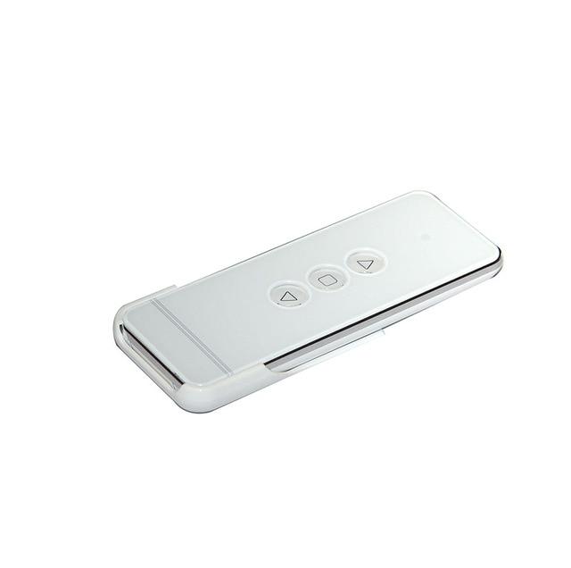 قناة واحدة الستار الكهربائي تحكم الإسقاط نظام التحكم عن بعد 433MHz قناة واحدة عالية الجودة