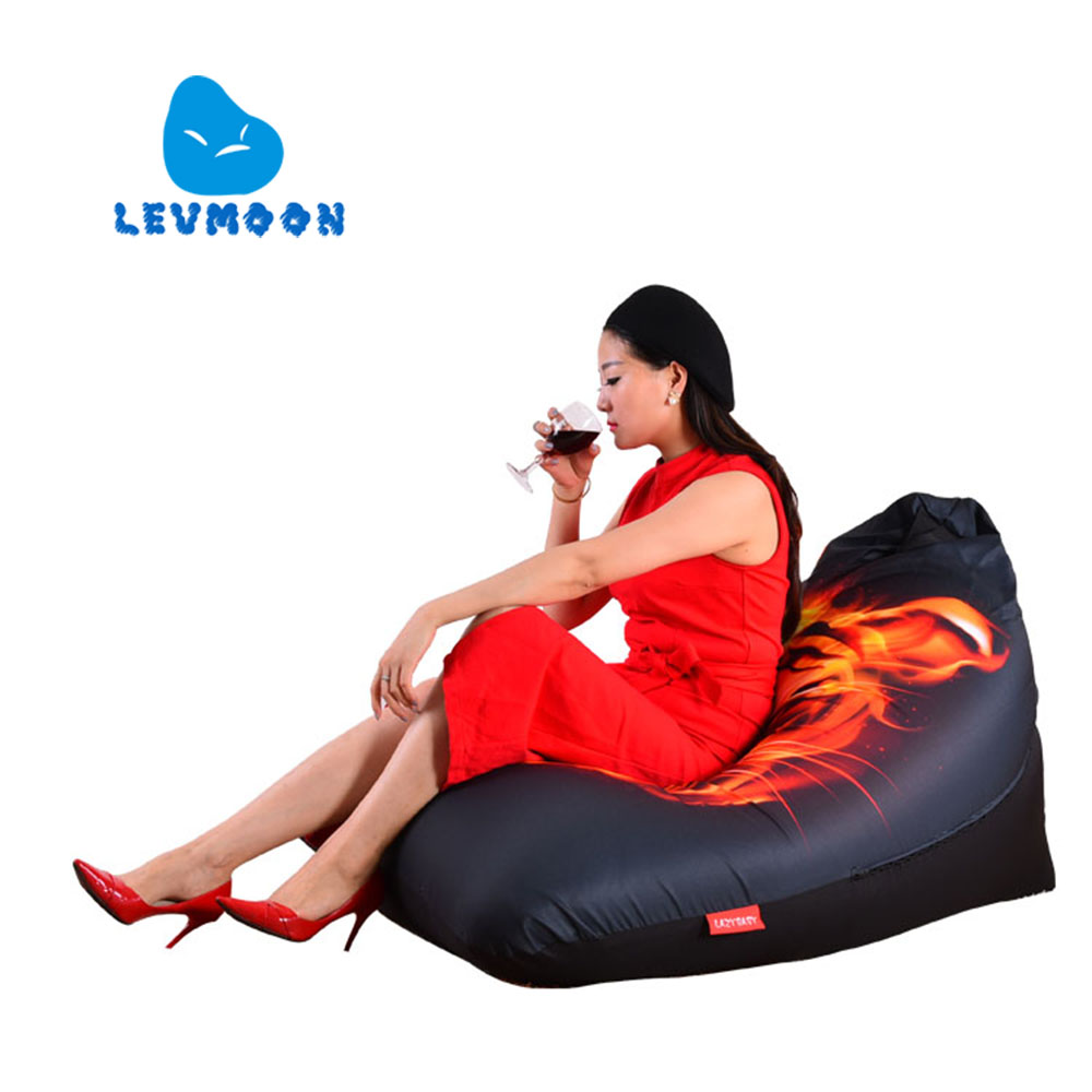 LEVMOON Beanbag Sofa Chair Tiger Seat zac Shell Comfort Bean Bag Bed Cover Without Filler Cotton Indoor Beanbag Lounge Chair