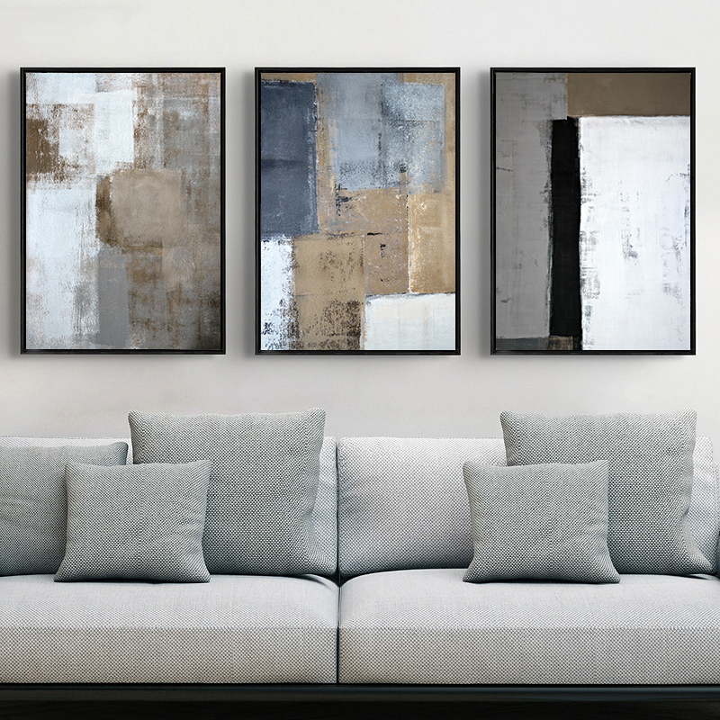 Vintage Abstract Canvas Printings Paintings Europe POP Posters And Prints Wall Pictures For Living Room Bedroom Home Decorative
