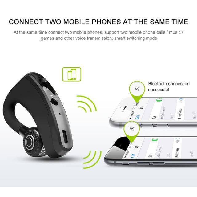 Leegoal V9 Handsfree Wireless Bluetooth Earphones Noise: New V9 Handsfree Wireless Bluetooth Earphones Noise