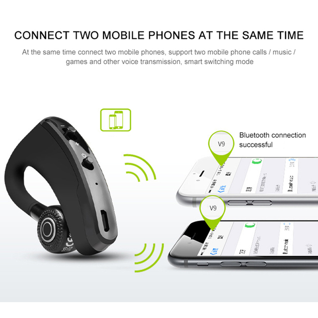 Hands Free Wireless Bluetooth Earphones