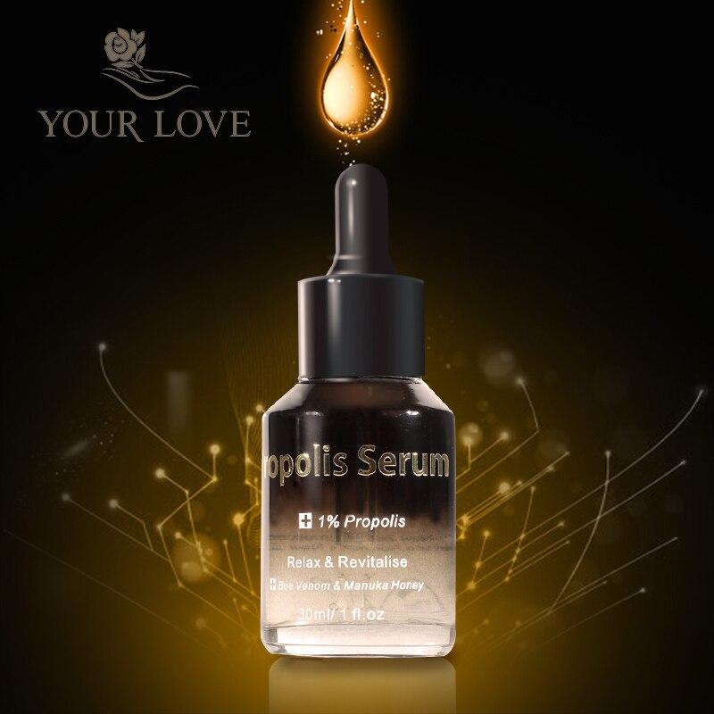 NewZealand JYP Intensive 1% Propolis Serum Organic Manuka Honey Cream Antiseptic Anti wrinkles Increase skin elasticity Healing