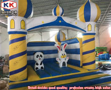Luxury Kids Inflatable Aladdin Castle Jumping Bouncer