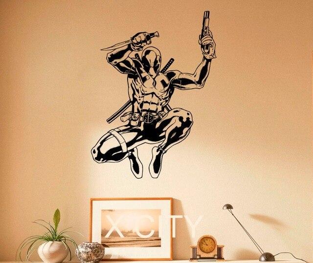 Deadpool Sticker Superhero Comics Antihero Vinyl Decal Comic Book ...
