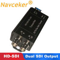 ProAV 1080i HD SDI Fiber Optische Converters Met Dual SDI Uitgang 1080 @ 30Hz HD-SDI Fibra Optic Naar BNC coaxiale Converter 20km