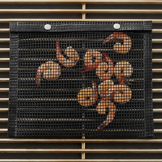 Non-stick mesh grill bags