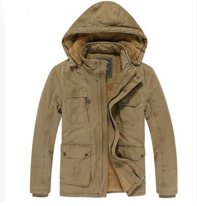 2014 military winter mens jackets and coats for teenager hoody warm casual autumn outdoor jacket for men big male thicken D220