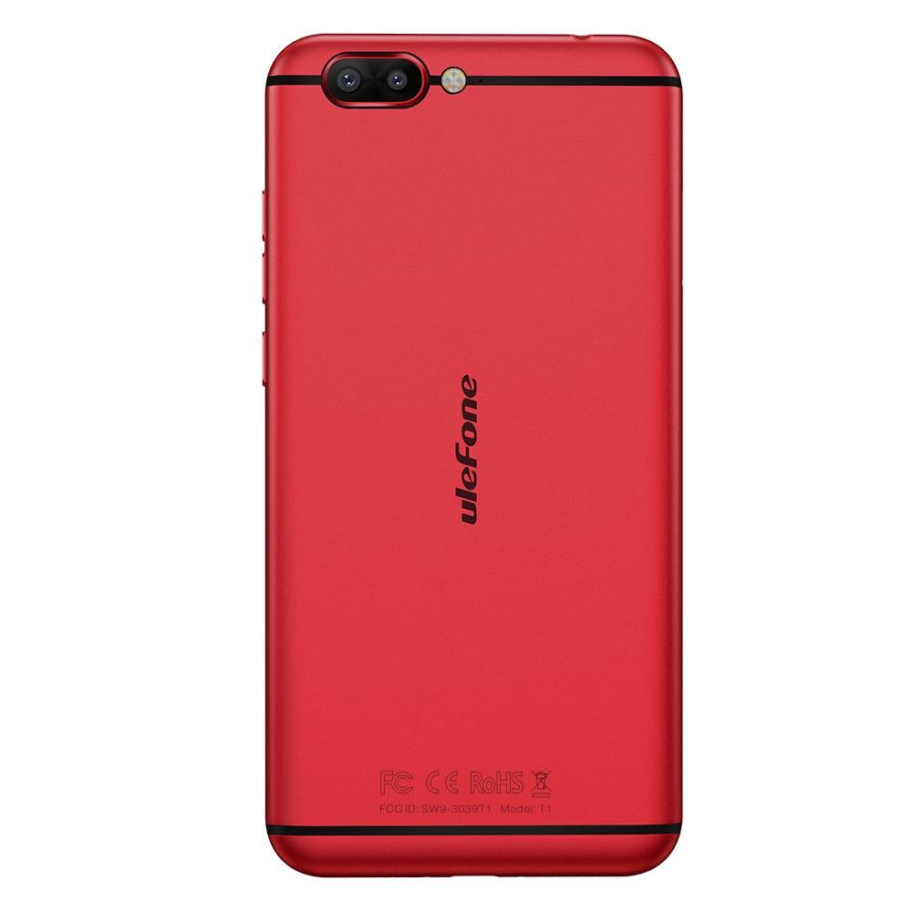 Ulefone T1 Двойная Камера 16MP+5MP Мобильный телефон 5.5 дюймов FHD helio P25 Octa core android 7.0 6 ГБ 64 ГБ Сканер отпечатков пальцев 4G телефон - 4