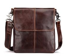 Free Shipping  New Fashion Genuine Leather Bag Men Famous Brand Shoulder Bag Messenger Bags Fashion Men's Travel Bags  LJ- 469