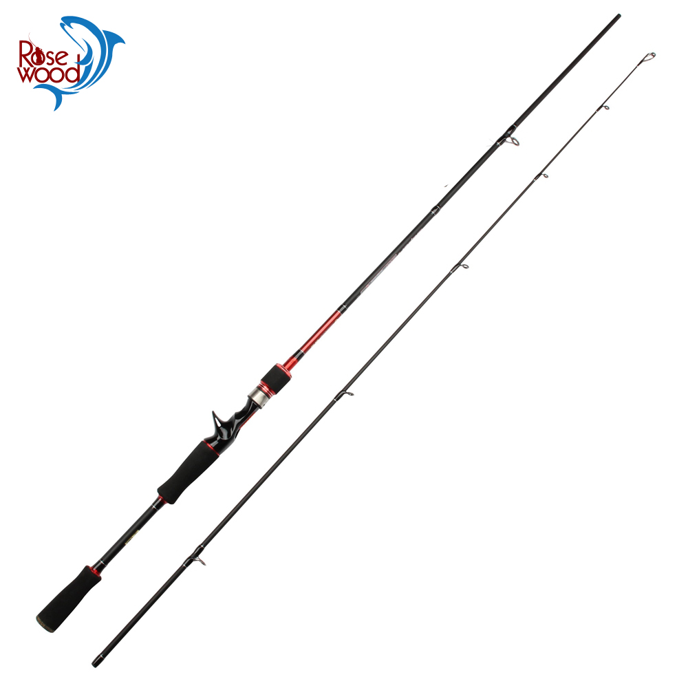 RoseWood 5-15g 5-18LB Tested Twitching Super Sensitive Fishing Spinning Casting Rod Outdoor Travel Fishing Rod Pole