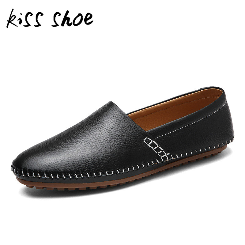 Kiss Shoe New 2018 Summer Fashion Men Sneakers Casual Shoes Soft Comfort Flats Footwear Big Size