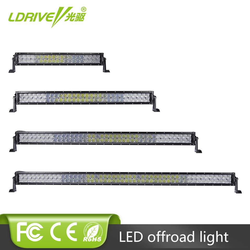12v 24v 5d 22 32 42 52 Inch 200w 300w 400w 500w Curved Led Work Light Bar For Tractor Boat Offroad 4wd 4x4 Car Truck Suv Atv Modern And Elegant In Fashion