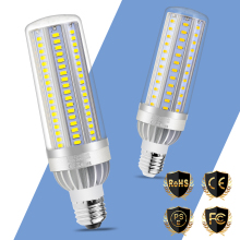 2pcs LED Bulb E27 50W Lamp 220V 5730 Corn Bulb E26 LED 25W 35W High Power LED Light 110V Fan Cooling No Flicker Outdoor Lighting цена