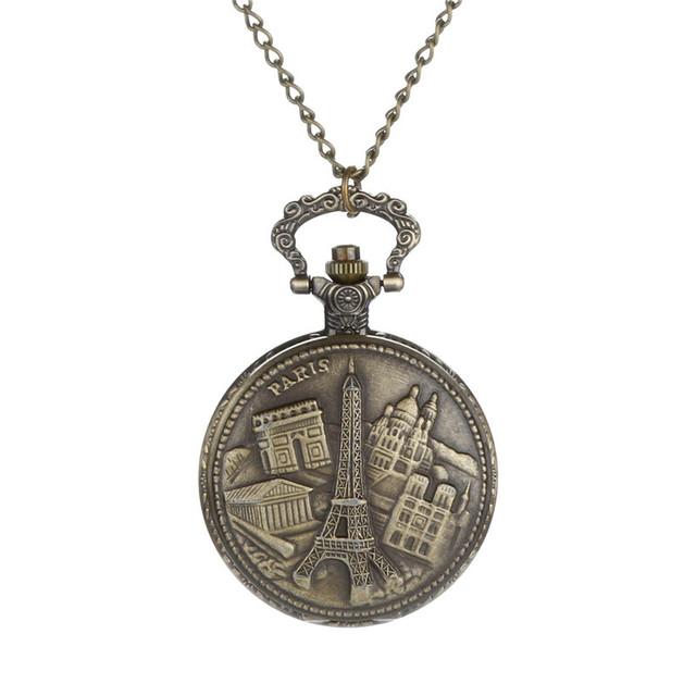 Pocket Quartz, Vintage Roman Numerals Pocket Watches