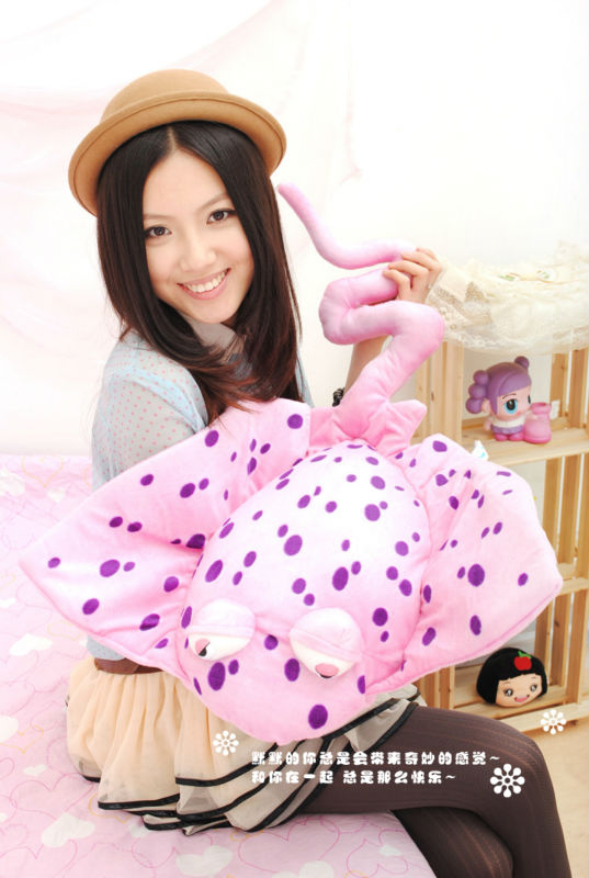 Ray fish 75cm plush toys super size cartoon stuffed animals cushion kids toys the cute pillow toy dolls for girl valentine days 30cm mickey mouse and minnie mouse toys soft toy stuffed animals plush toy dolls