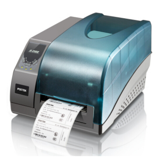 Impresora de etiquetas de código de barras G2108 Postek industrial luz térmica etiqueta de transferencia máquina comercial portátil de código de barras de la impresora