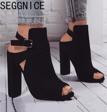 SEGGNICE High Heels Women Party Shoes T-stage Sexy Dancing Wedding Ladies Woman Zapatos De Mujer