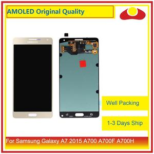 Image 2 - ORIGINAL For Samsung Galaxy A7 2015 A700 A700F SM A700F LCD Display With Touch Screen Digitizer Panel Pantalla Complete Assembly