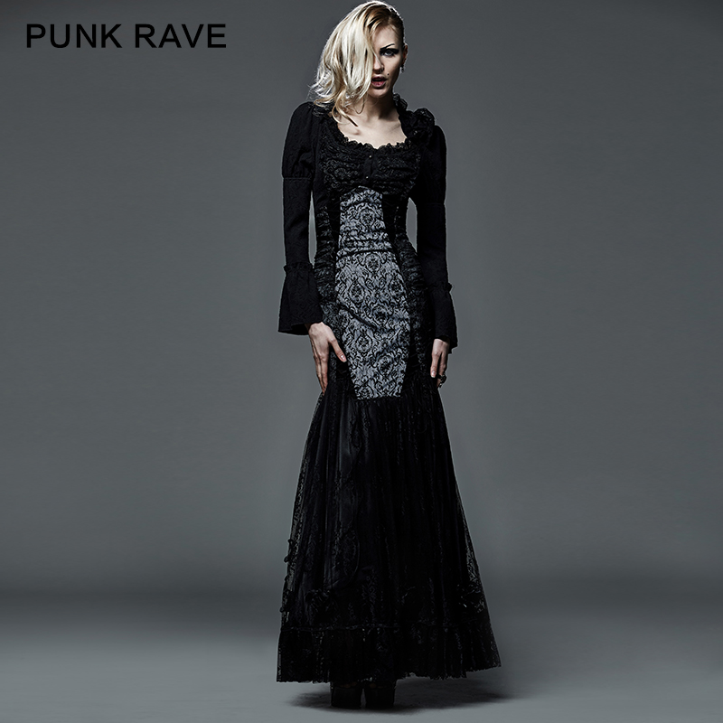 Punk Formal Dress Lace Fashion Dresses