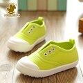 2016 primavera outono doces cores crianças sapatilhas crianças sports running shoes meninos meninas sólidos não-slip shoes criança do sexo feminino 13-20 cm