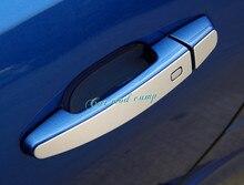 For Chevrolet Camaro 2016 2017 Aluminum alloy Exterior Door Handle Decoration Trim 4pcs Car Styling Car Styling Accessories!
