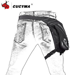 Image 4 - CUCYMA Motorcycle Bag Phone Case Purse Belt Male Waist Bags Motorcycle Leg Bag Outdoor Long distance Bag Leg CB 1603