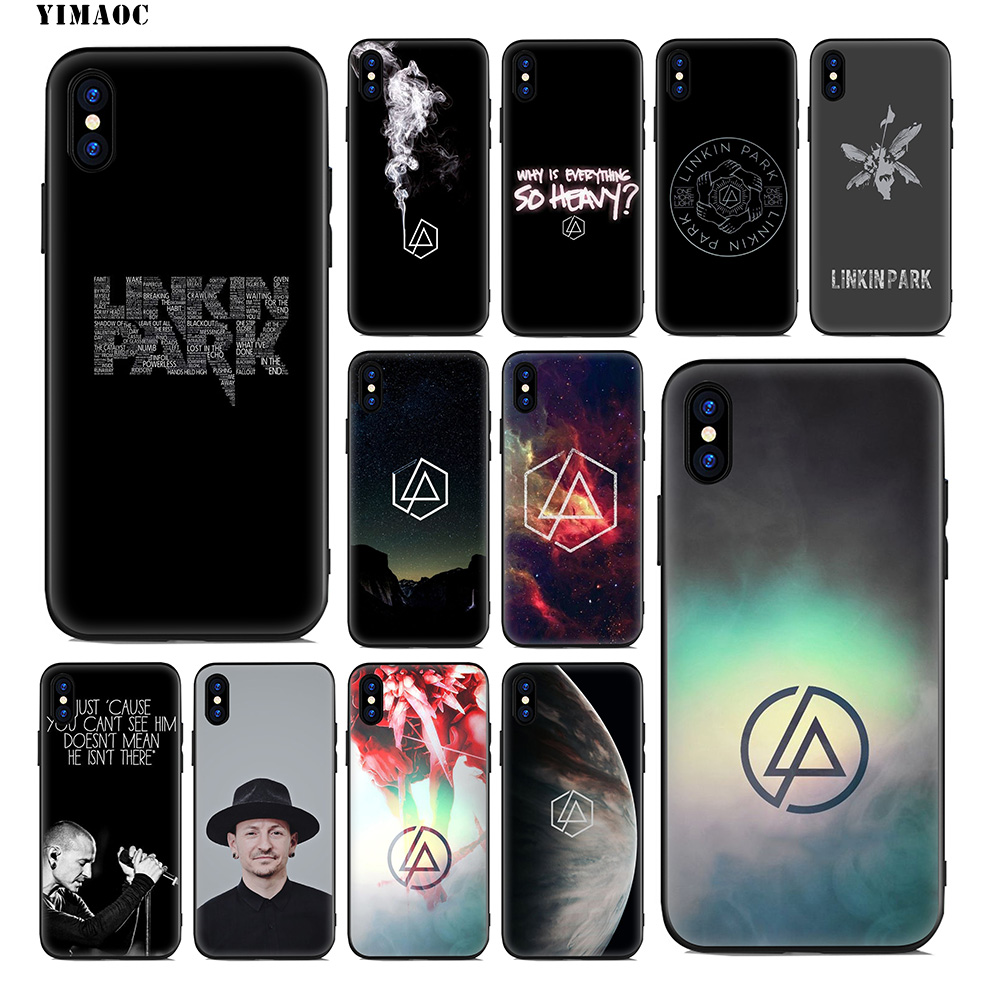 YIMAOC Linkin Park Soft Silicone Case for iPhone 11 Pro Xr Xs Max ...