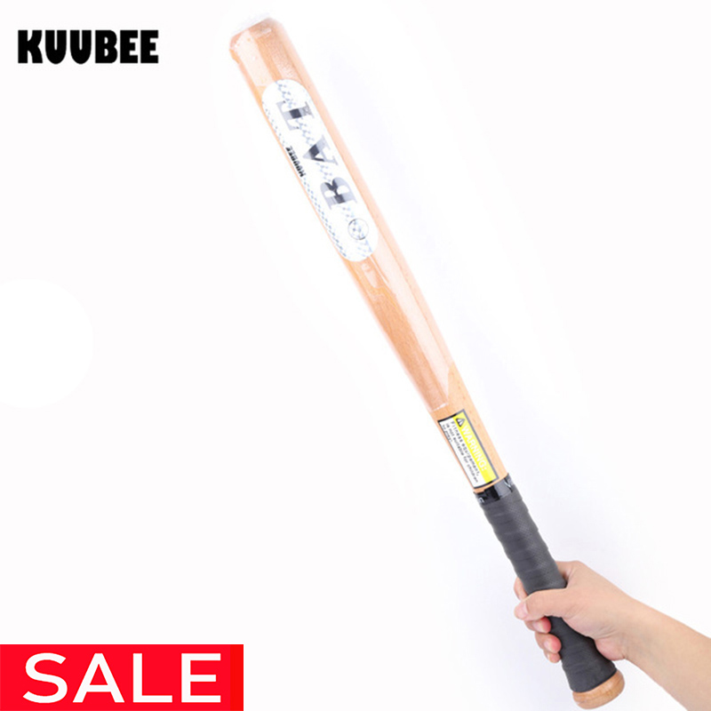 Wood Baseball Bat 53cm 63cm 73cm 83cm Hardball Wooden Baseball Bats