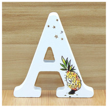 Get more info on the 1pcs 10X10cm Wooden Letters Decorative Alphabet Hand Made Word Wood Letter Name Design Art Crafts Pineapple Wedding Home DIY