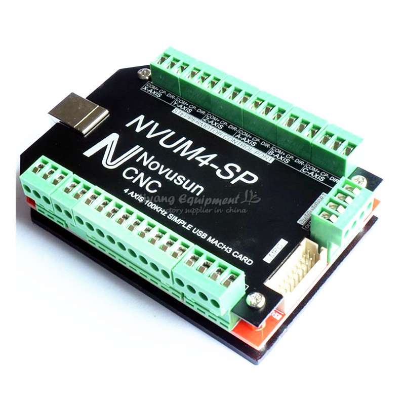 6 Axis MACH3 USB motion control card CNC Standard Breakout Board M3 M4 M5 M6