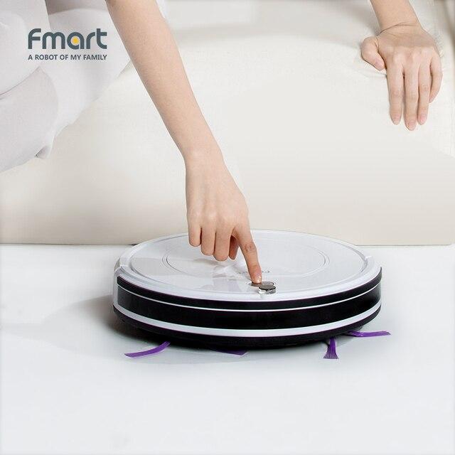 Fmart FM-R150 Smart Robot Vacuum Cleaner Cleaning Appliances 128ML Water Tank Wet 300ML Dustbin Sweeper Aspirator 3 in 1 Vacuums