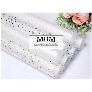 Best gift wrapping paper cellophane brands 10pcl roll flower wrapping paper packaging gift packing mightylinksfo