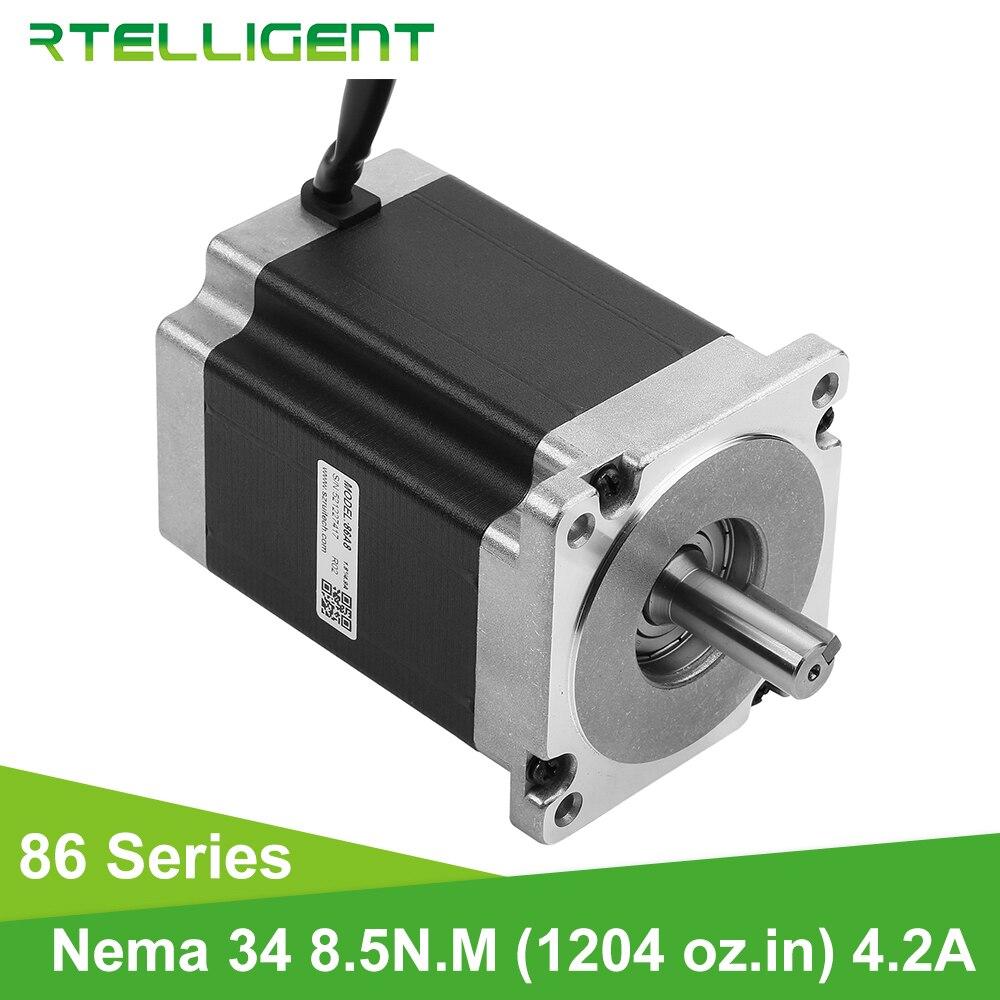 Rtelligent Nema 34 High Torque 8 5N M Stepper Motor 86 86 86A8 Dc Motor 0