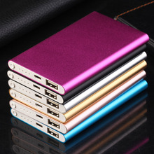 Portable Size Super Thin 4000MAH External Power Bank Battery