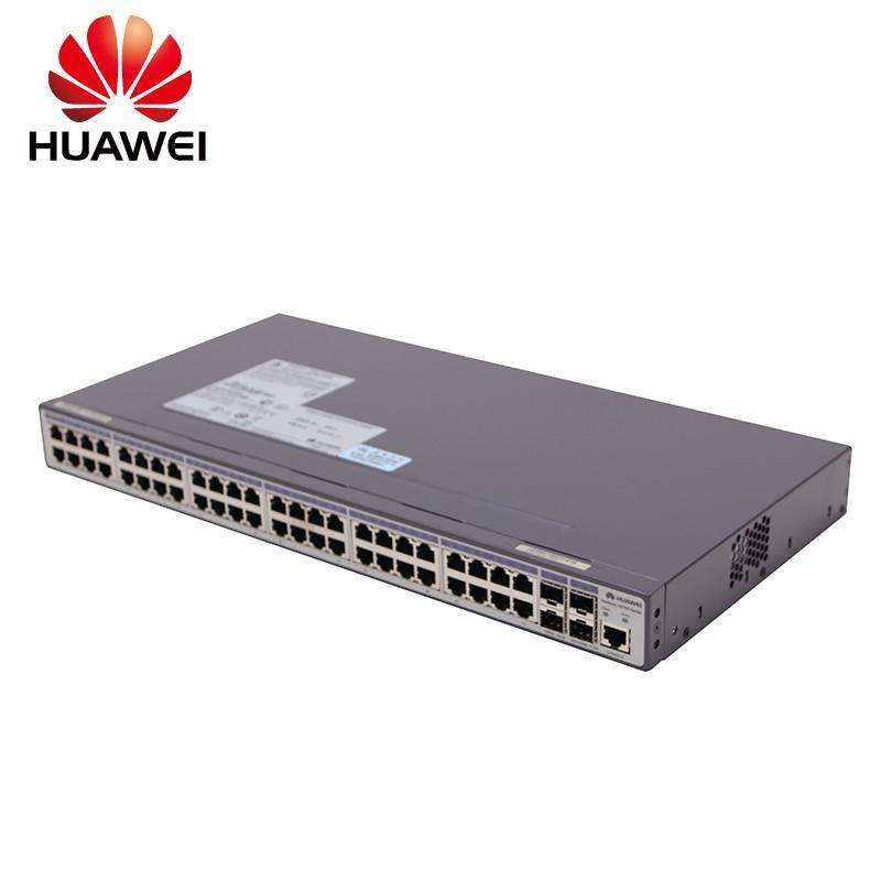 Used Huawei S2710-52P-SI-AC 48-port 100M+4 SFP Optical Network Management Switch