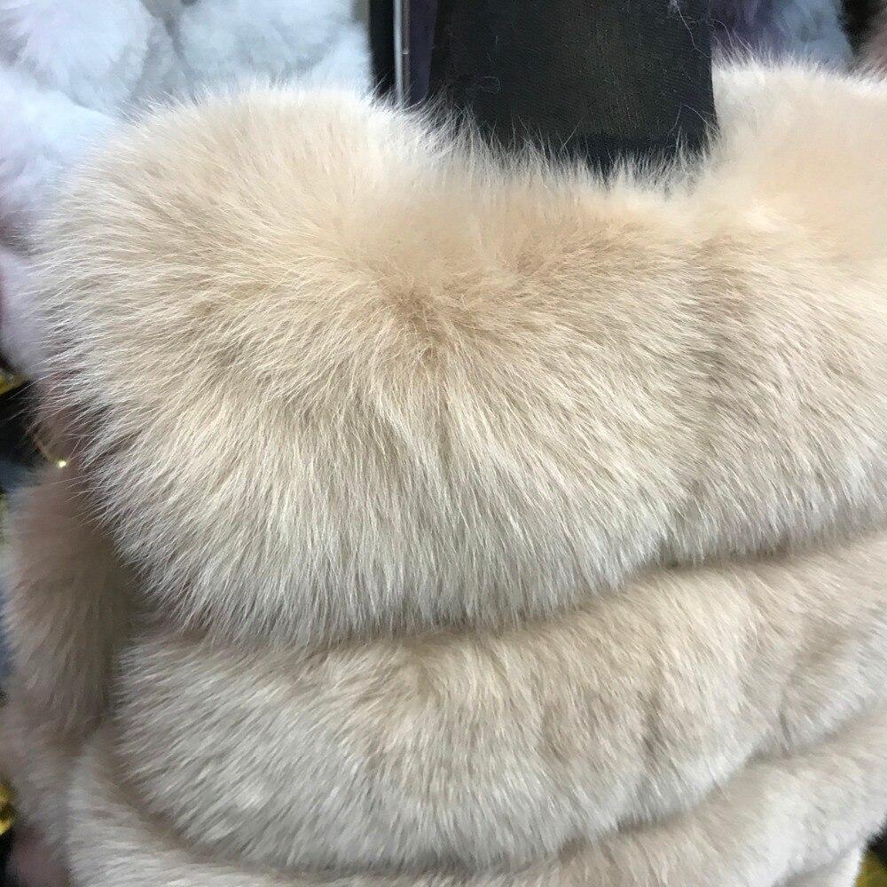 White coffee 2017 natural 100 Weste Frauen khaki Hohe Echten dark Echt Herbst Natürliche Winter Dame red Grey Pelz Gilet Echte black White Fuchs Fox Qualität pink fvqna4wTfx