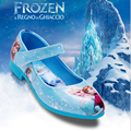 Sandalias de verano para niños cartoon frozen princesa shoes casual shoes niños niñas sandalias de cuero niños niñas noche shoes