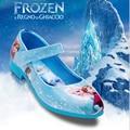 Summer Sandals For kids Casual Shoes Kids Sandals Girls Leather Cartoon Frozen Princess Shoes Children Girls Evening Shoes