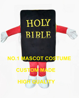 the holy bible book mascot costume adult size cartoon book theme anime cosplay costumes holiday charity activity dresses 2573