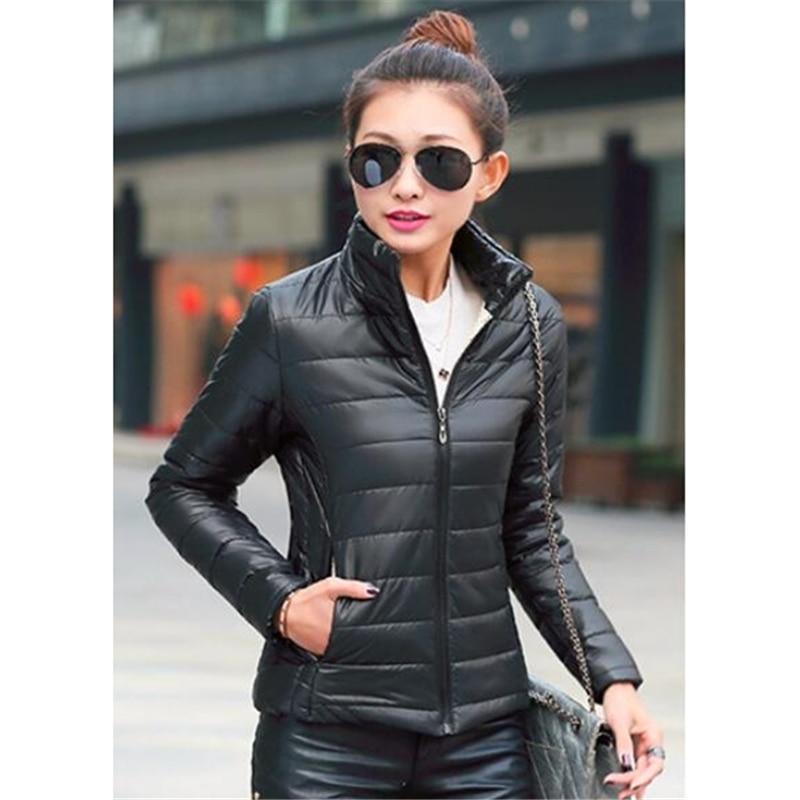 ZOGAA Women's   Parkas   Winter Jackets Coat Light Woman Casual Solid Stand Collar   Parka   Jackets Female Cotton Coat Slim Fit Outwear