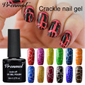 Vrenmol 1pcs New Arrival Crackle Shatter UV Gel Cracking Nail Lacquer Professional 12 Colors Crack Nails Gel Polish