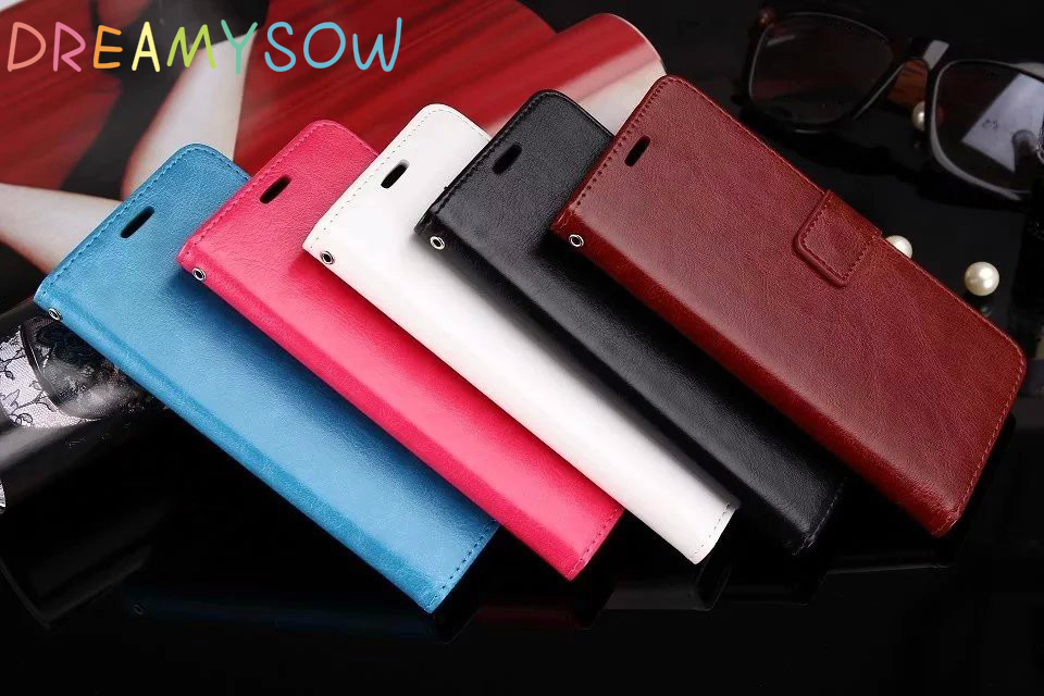 DREAMYSOW Leather Case For Samsung Galaxy Note 8 5 4 S8 Plus S3 S4 S5 S6 S7 Edge Core Grand Prime A3 A5 J3 J5 J7 2016 Cover New