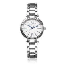 Reloj de lujo mujeres moda de negocios de cuarzo reloj mujer relojes señora  de acero inoxidable 81d737c4330d