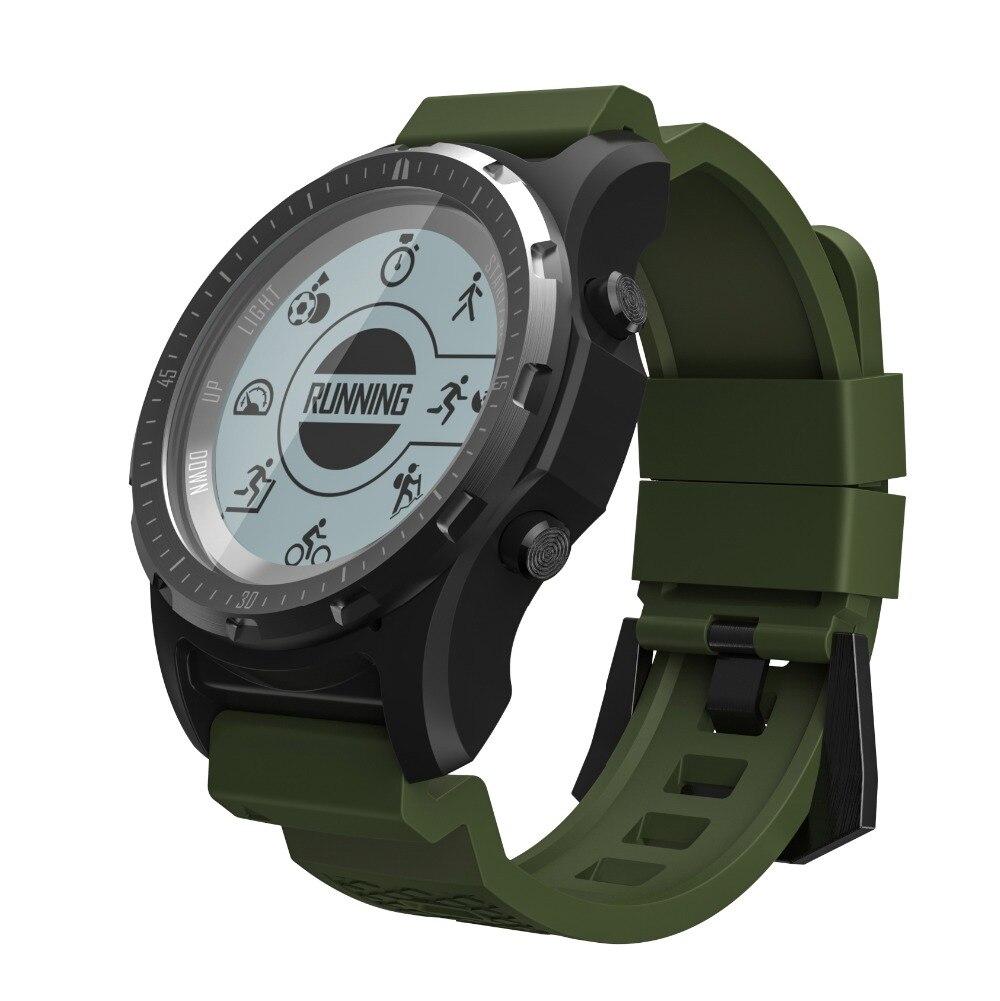 GPS smart wristband men S966 Heart Rate monitor Multi sport smartWatch Fitnes Tracker support air pressure altitude temperature