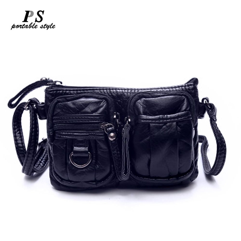 New Hot Famous Brands Women's Genuine Leather Bag Female Casual Shopping Travel Messenger Bag For Women Woman Shoulder Bag