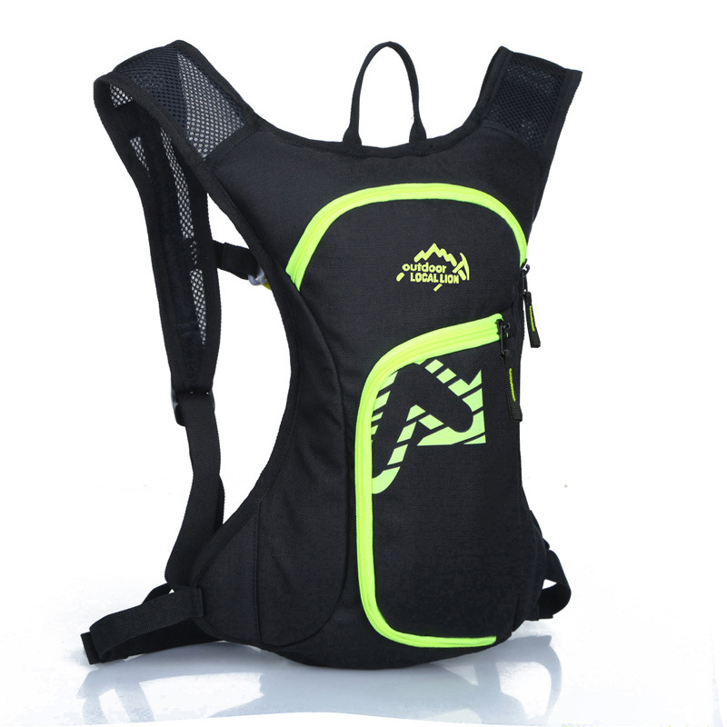 12L Bicycle Cycling Backpack Hydration Pack Hiking Sports Rucksack Water Bag US