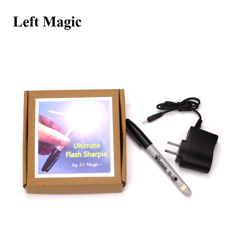 Ultimate Flash Sharpie By J.C MagicTricks Stage Illusion Magic Props Accessories Mentalism Close Up Gimmick Silk Vanishing Magic недорого